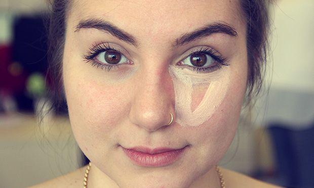 Técnica do triângulo: como passar corretivo para disfarçar as olheiras - Maquiagem - Beleza - MdeMulher - Editora Abril