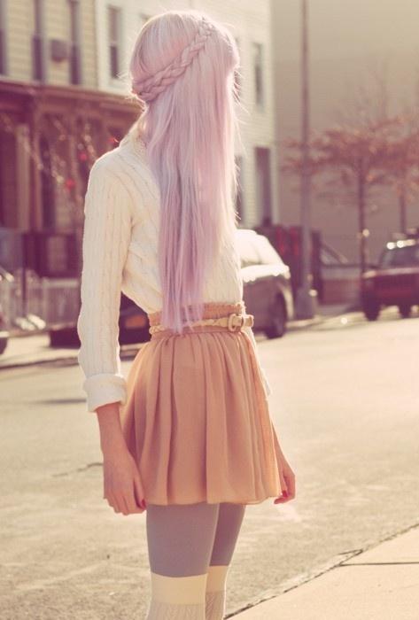 Purple hair ❤Maddi(: