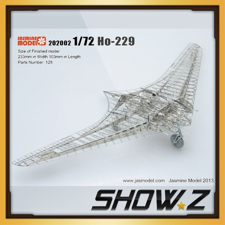 79.99$  Know more - http://ai3q5.worlditems.win/all/product.php?id=32652076259 - [Show.Z Store]1/72 Ho-229/Gotha Go 229 Full Structure PE Detail Model kit Jasmine Model 202002