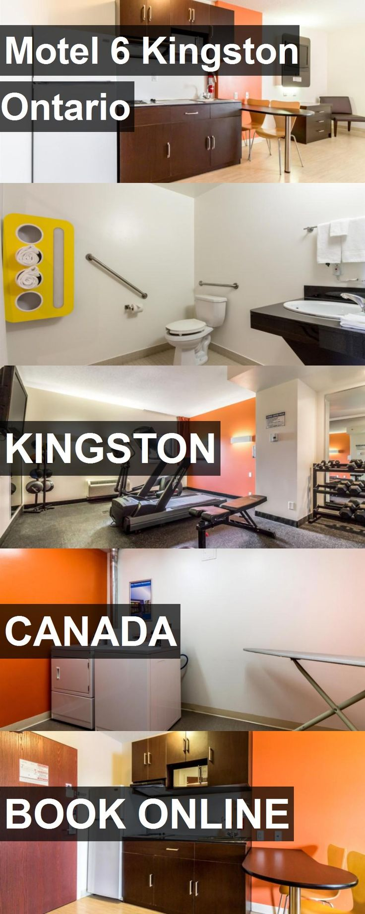 Hotel Motel 6 Kingston Ontario in Kingston, Canada. For more information, photos, reviews and best prices please follow the link. #Canada #Kingston #Motel6KingstonOntario #hotel #travel #vacation