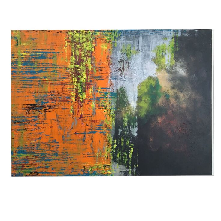 Name: Behind  Akrylic, abstract  artwork  by Maria Helgesson.   Canvad 60x80 For sale
