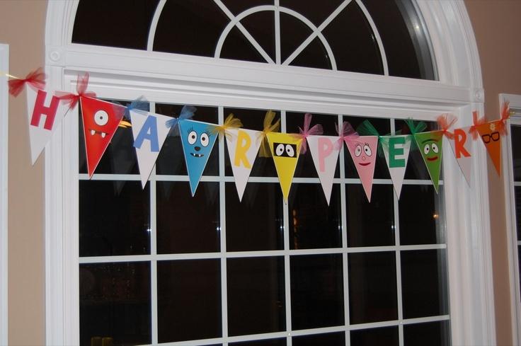Yo Gabba Gabba Party Ideas!!