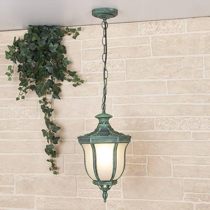 Уличный подвесной светильник Elektrostandard Taurus H малахит 4690389065071 — купить в интернет-магазине ВамСвет