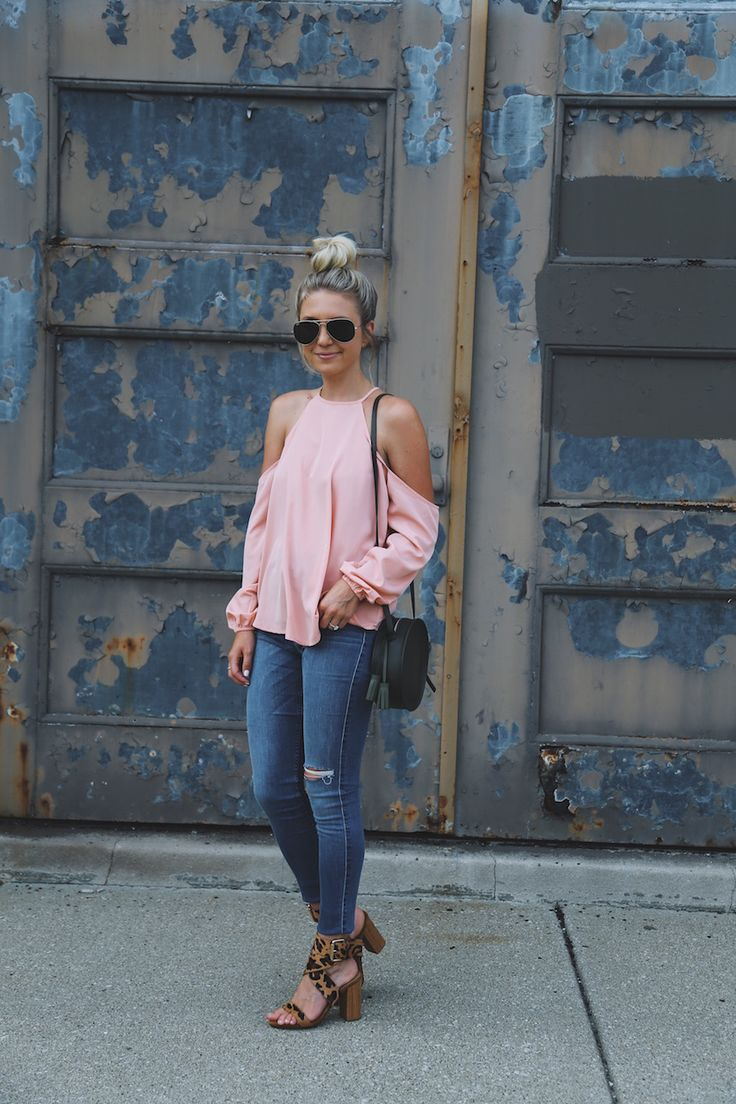Somewhere Lately | Womens High Neck Cold Shoulder Top | Womens Tops | Abercrombie.com $58
