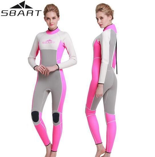 66.89$  Buy here - http://aliw23.worldwells.pw/go.php?t=32645595426 - SBART 3MM Neoprene Men Women's Surfing Wetsuits Swimming Spearfishing Wetsuit Diving Suit Maillot De Bain Femme