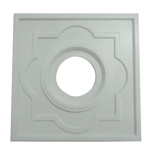 Portfolio White Ceiling Fan Medallion (quatrefoil) - $14.97 at Loweu0027s