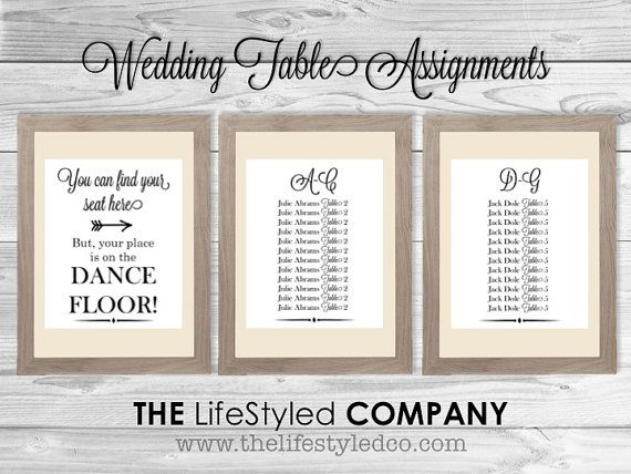 elegant wedding table assignments table by lcodesignandpaperie 3498 black and white wedding rustic wedding chic wedding wedding table assig