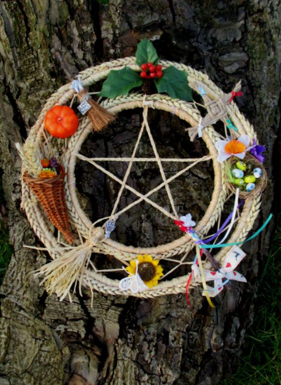 All Sabbats Pagan Wiccan Decoration Handfasting Home Blessing Gift