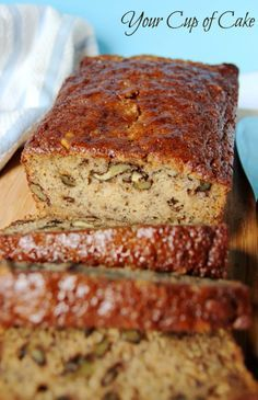 The BEST Banana Bread you will ever have! Way better than the Starbucks kind!