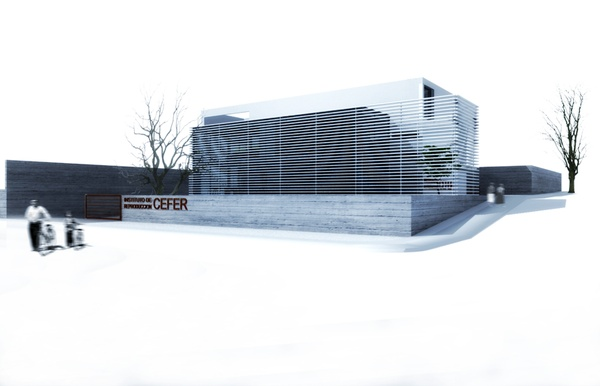 INSTITUT CEFER by Paulo Martins, via Behance