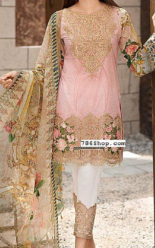 4027ea8de5 Pink Lawn Suit | Buy Jazmin Pakistani Dresses and Clothing online in USA, UK