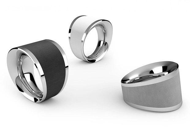 Fashion News – March, 25, 2013: Viennese designer Thomas Hauser wins international Red Dot Design Award for his concrete & palladium jewellery
