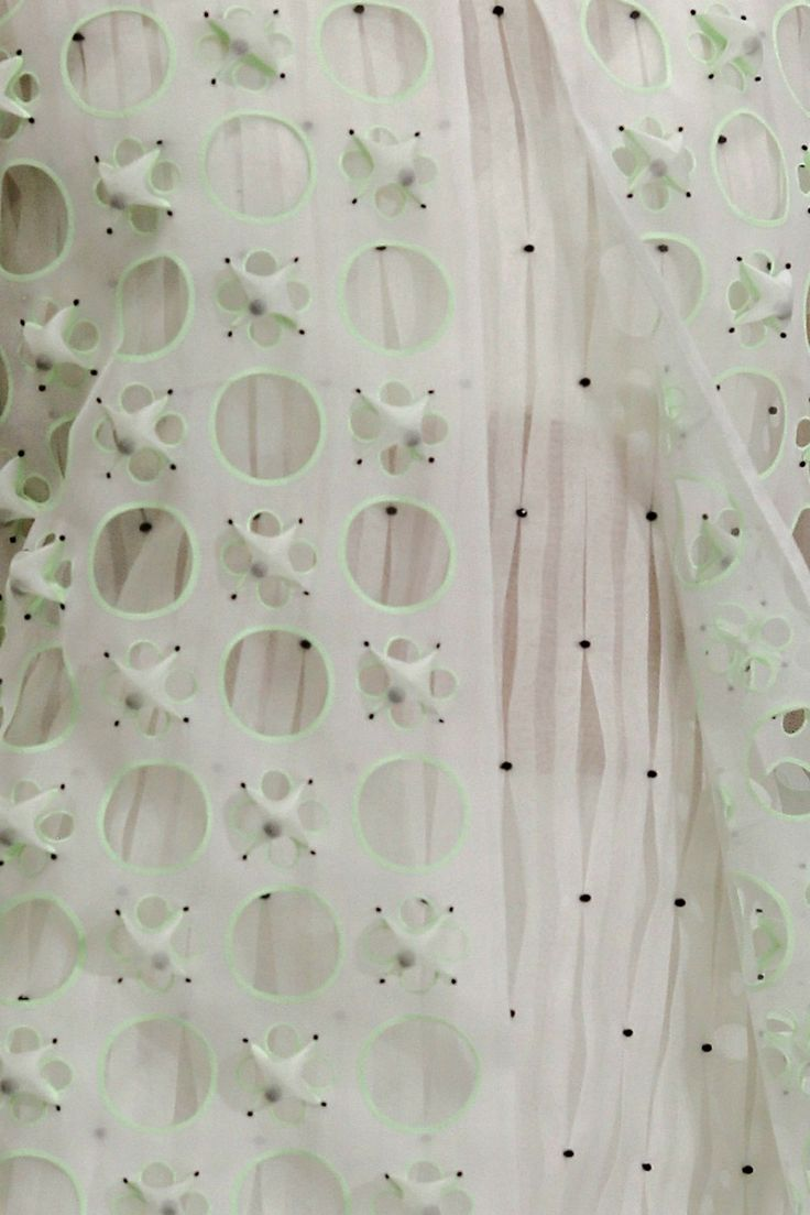 Fabrics from Christian Dior haute couture s/s 2014