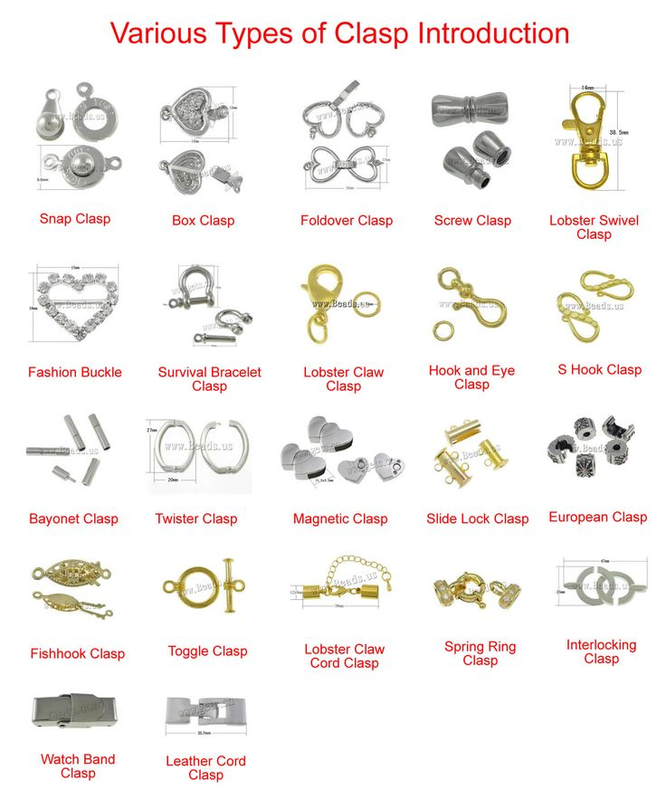 Various Types Of Clasp Introduction Jewelry Making