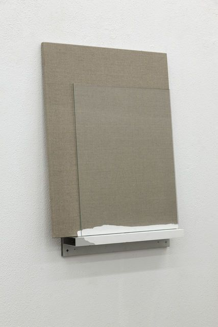 Pedro Cabrita Reis . raw canvas #3, 2014
