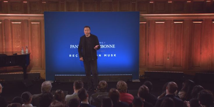 Tesla and SpaceX CEO Elon Musk gave a speech in Paris on Wednesday at the Sorbonne, and he called in no uncertain terms for a carbon tax.