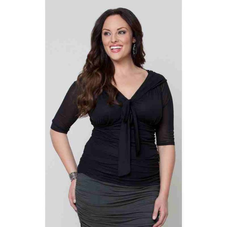 PRE-ORDER - Melrose Mesh Top (Black Noir) $82.00 http://www.curvyclothing.com.au/index.php?route=product/product&path=95_103&product_id=8246