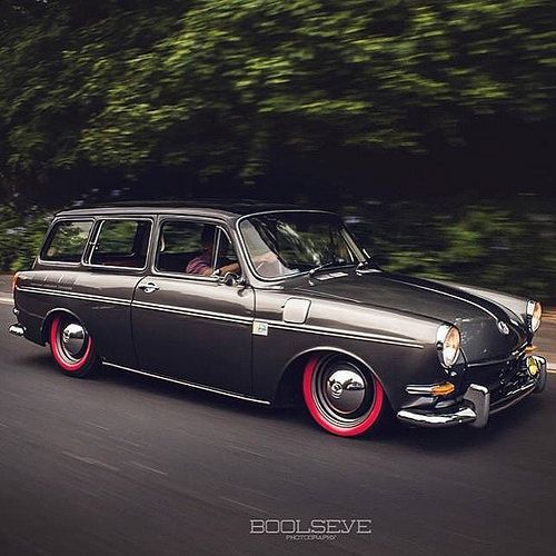 Vw 1600 Wagon: 90 Best Das VW Squareback Images On Pinterest