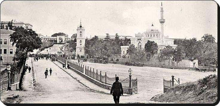 Yıldız Hamidiye camii yolu - 1919