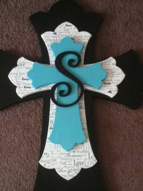 Custom Made Wooden Decorative Stacked Cross by ballardb314 on Etsy, $65.00