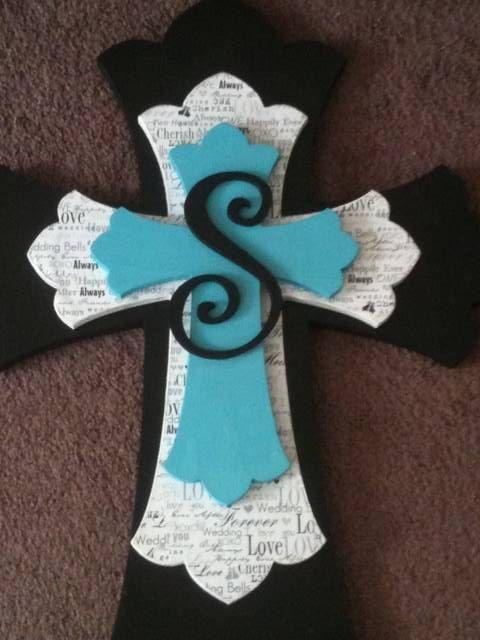 Custom Made Wooden Decorative Stacked Cross by ballardb314 on Etsy, $65.00