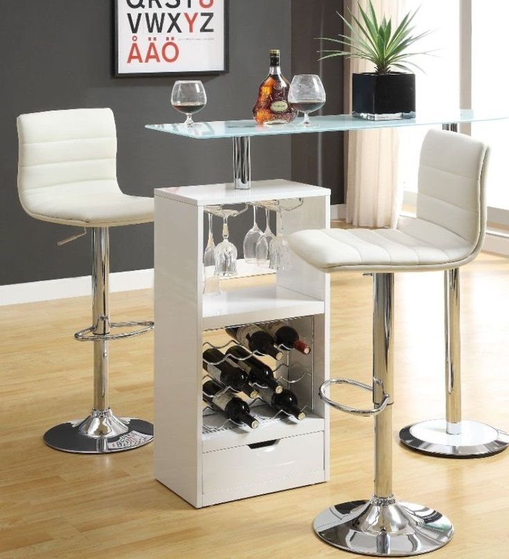 Best 25 White Bar Table Ideas On Pinterest  White Kitchen Chairs Interesting Dining Room Bar Furniture Design Inspiration