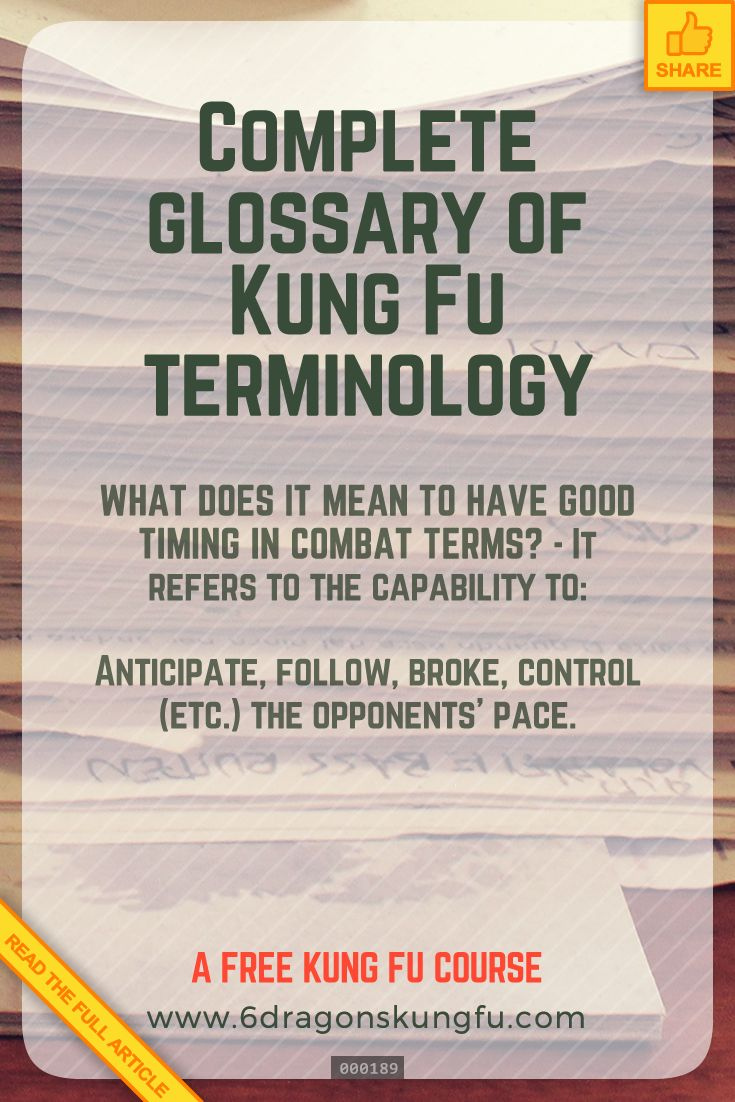Complete Glossary Of Kung Fu Terminology In 2020 Kung Fu Glossary Aikido