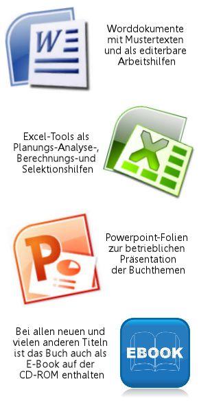 Die CD-ROM-Inhalte der PRAXIUM-Fachinformationen zeichnen sich durch eine grosse Vielfalt verschiedenster Working-Tools aus, welche die betriebliche Umsetzung und Nutzung erleichtern sollen.