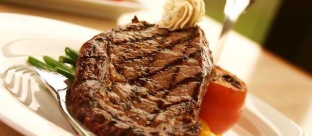 Rib-Eye Steak with Savoury Butter #recipe #food