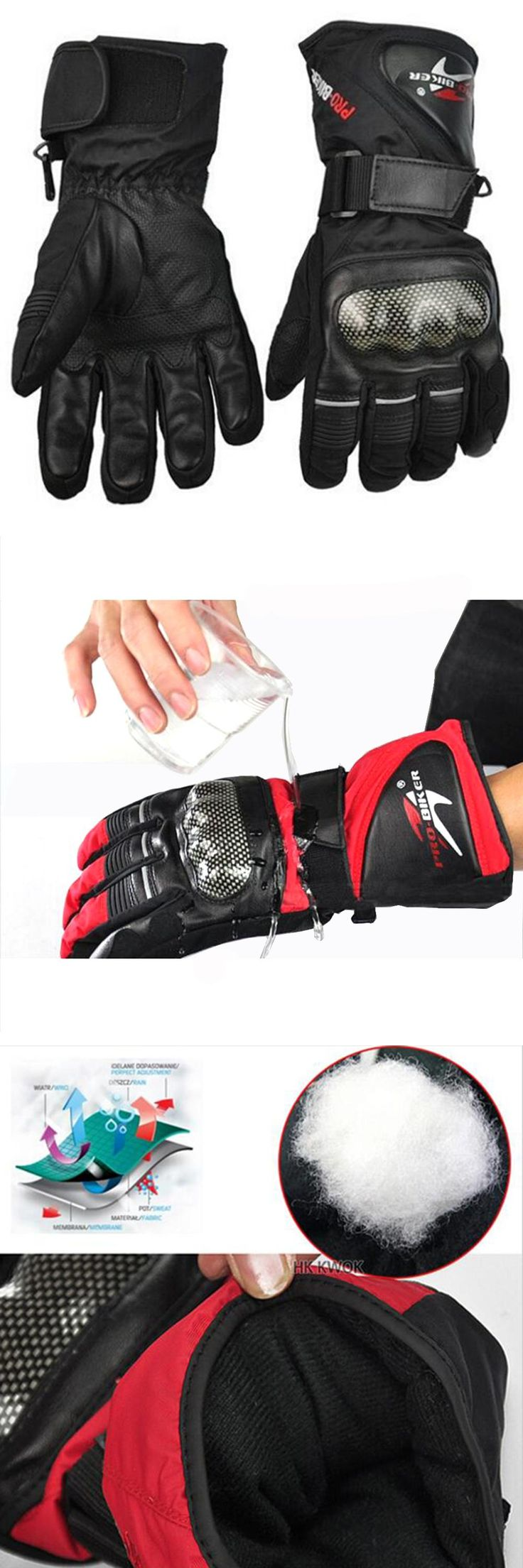 Motorcycle gloves smell -  Visit To Buy Leather Gloves Motorbike Motorcycle Gloves Winter Waterproof Windproof Protective Gear Sports
