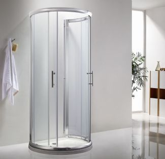 Icon D Shaped Shower Enclosure 900mm X 770mm One Wall