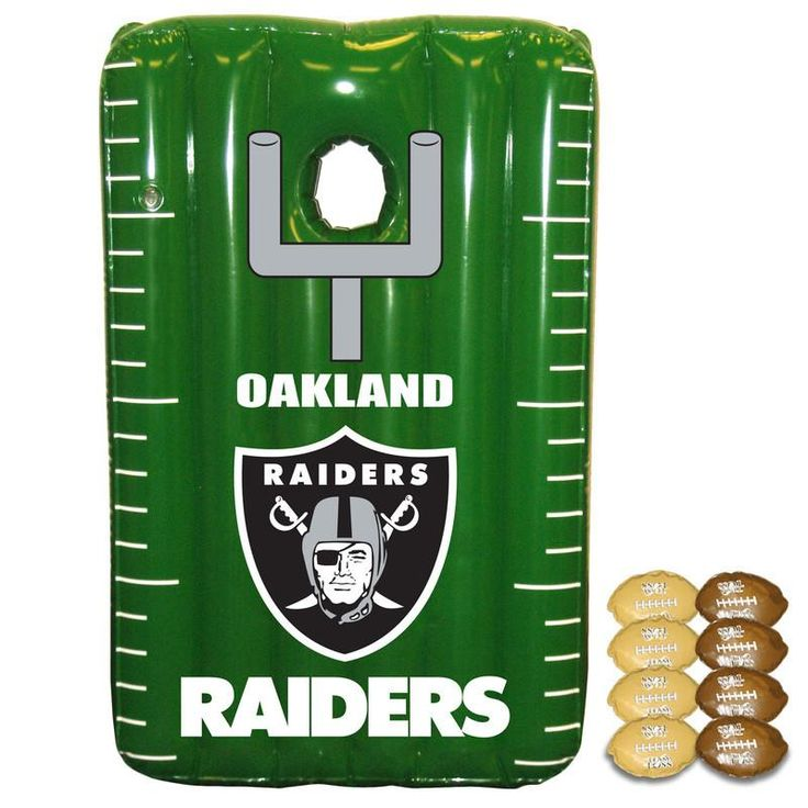 Oakland Raiders Inflateable Toss Game