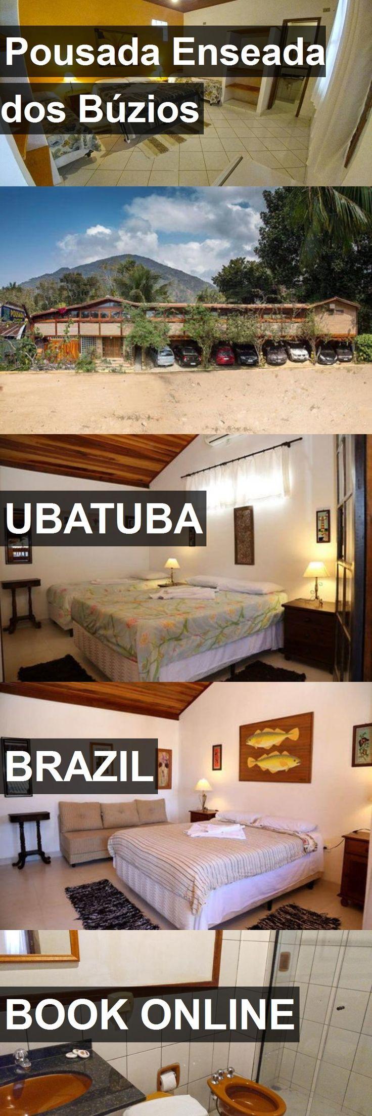 Hotel Pousada Enseada dos Búzios in Ubatuba, Brazil. For more information, photos, reviews and best prices please follow the link. #Brazil #Ubatuba #PousadaEnseadadosBúzios #hotel #travel #vacation