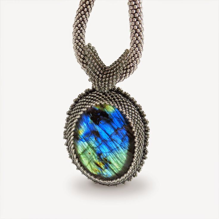 Labradorite neckles has been created for charity auction for WOŚP by Kate Alade