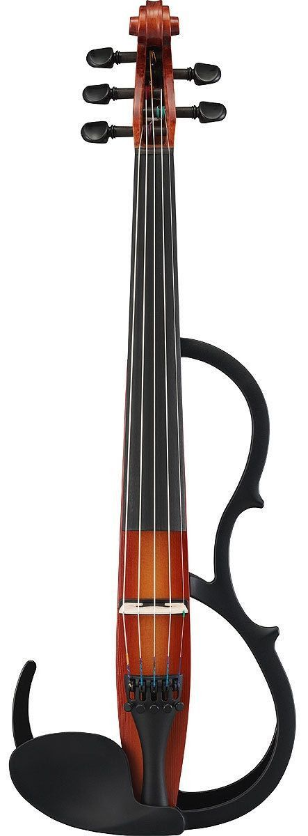 Yamaha SV-255 Designed to meet the needs of the professional performer playing diverse styles, these 4 & 5 string violins establish a new benchmark for sound quality and player comfort. An innovative