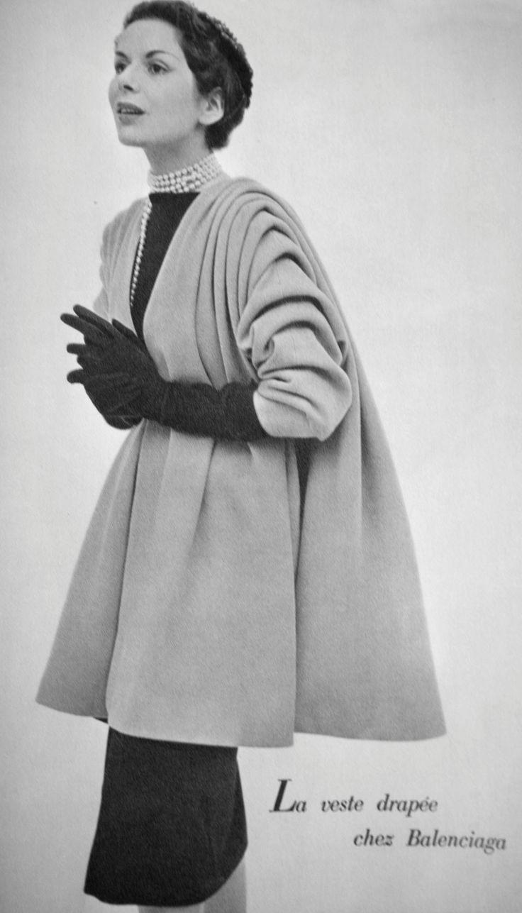 Balenciaga coat 1950