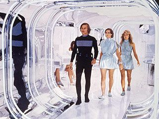 Logan's Run (1976) Michael York, Jenny Agutter, Farrah Fawcett.