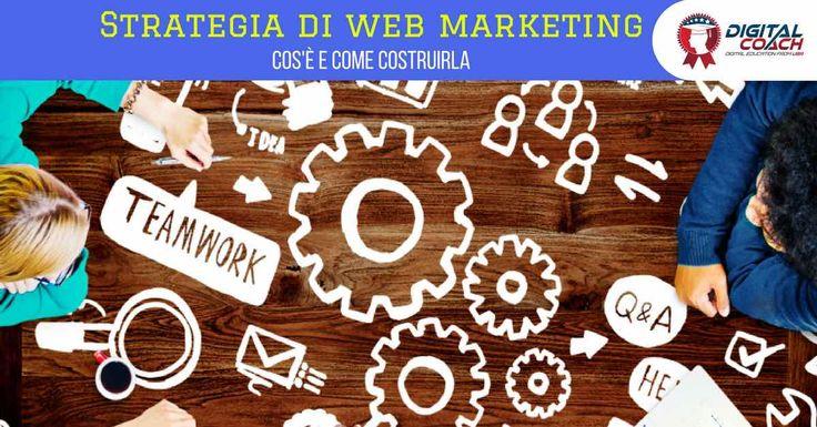 Cos'è una strategia di web marketing: si può spiegare in breve e chiaramente? Difficile ma possibile, scopri come fare con questa semplice mini guida.