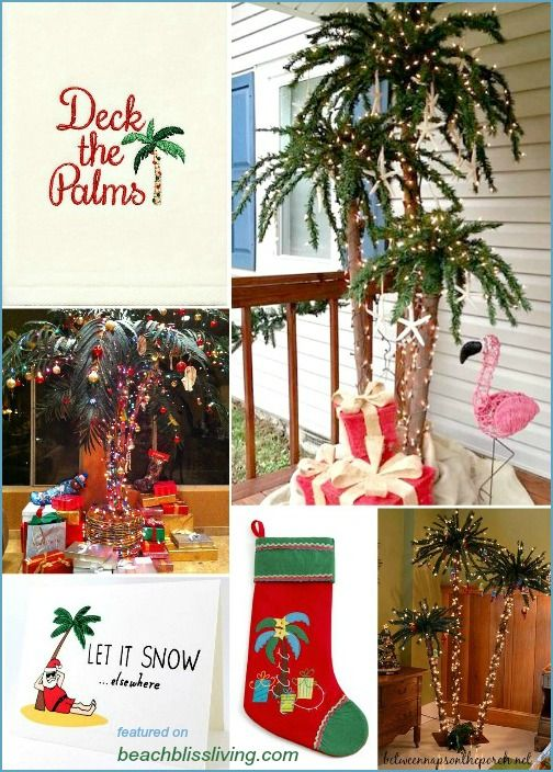 Deck the Palms – Palm Christmas Trees & Decorations to Create a ...