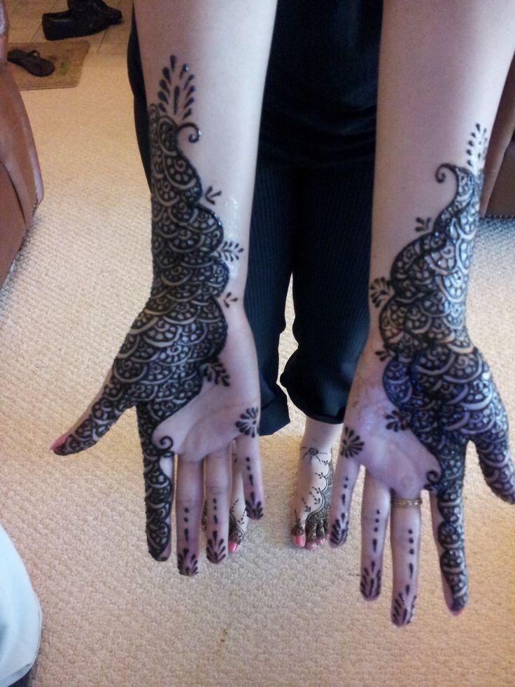 Henna Tattoo Dubai Price: Henna Mehndi Temporary Tattoo Traditional Bridal Design