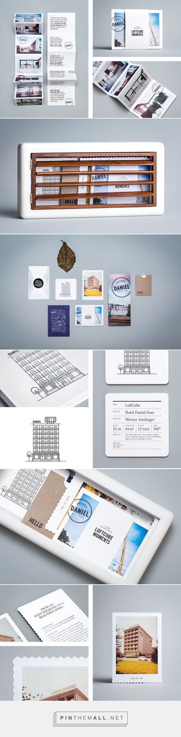 Daniel LoftCube Mailing - Branding on Behance - created via http://pinthemall.net