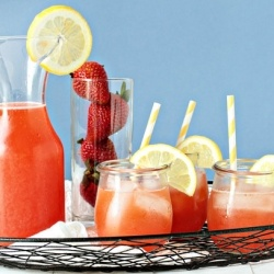 #131707 - Strawberry Lemonade Vodka By TasteSpotting -- see more at LuxeFinds.com