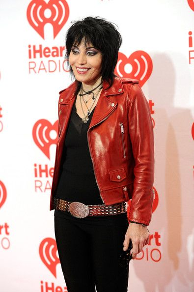 Joan Jett Photos Photos - Singer Joan Jett attends the iHeartRadio Music Festival at the MGM Grand Garden Arena on September 21, 2013 in Las Vegas, Nevada. - iHeartRadio Music Festival - Day 2 - Backstage