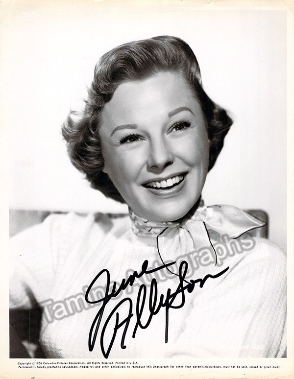 American stage, film and TV actress (1917-2006), active for 7 decades from 1938 through 2001. Signed photo, 8 x 10 inches, very good condition