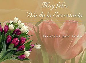 Tarjetas animadas, postales para desear Feliz Día de la Secretaria - Imagenes para felicitar en el Día de la Secretaria y del empleado administrativo - CorreoMagico.com