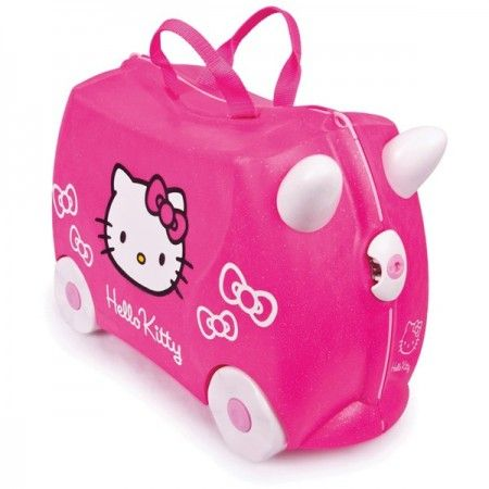 Valise à roulettes Hello Kitty