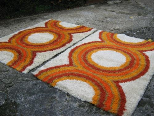 pair of rya rugs