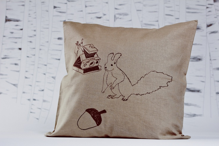 limited edition screen printed pillow-case by evuska