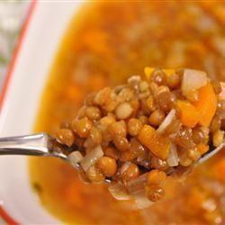 Fakes - grecka zupa z soczewicy