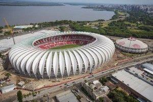 portoalegre aerea arenabeirario 13 0 300x200 Kemewahan 12 Stadion Untuk Ajang Piala Dunia Brasil 2014